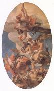 VERONESE (Paolo Caliari) Jupiter Smiting the Vices (mk05) oil painting reproduction