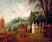 WATTEAU, Antoine The Island of Cythera oil painting