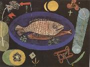 Paul Klee Around the Fish (mk09) oil painting