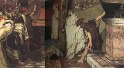Alma-Tadema, Sir Lawrence A Roman Emperor AD 41 (mk23) oil painting