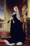 Heinrich von Angeli Queen Victoria (Empress of India) (mk25) oil painting reproduction