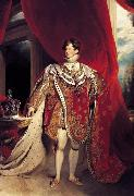 Sir Thomas Lawrence George IV (mk25) oil painting