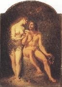 William Edward frost R.A. The First Temptation (mk37) oil painting