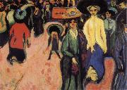 Ernst Ludwig Kirchner The Street oil painting