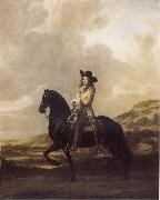 Thomas De Keyser Equestrian Portrait of Pieter Schout oil painting