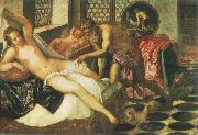 Tintoretto Vulcanus Takes Mars and Venus Unawares oil painting reproduction