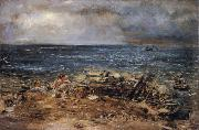 William Mctaggart The Emigrants oil painting