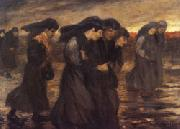 theophile-alexandre steinlen The Coal Sorters oil painting