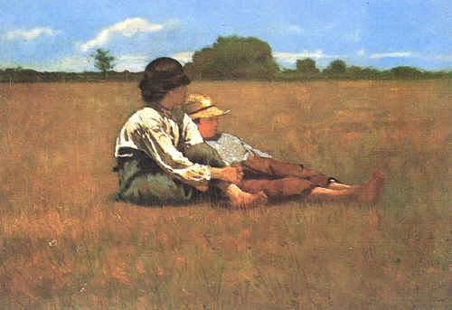an analysis of winslow homers painting boys in a pasture